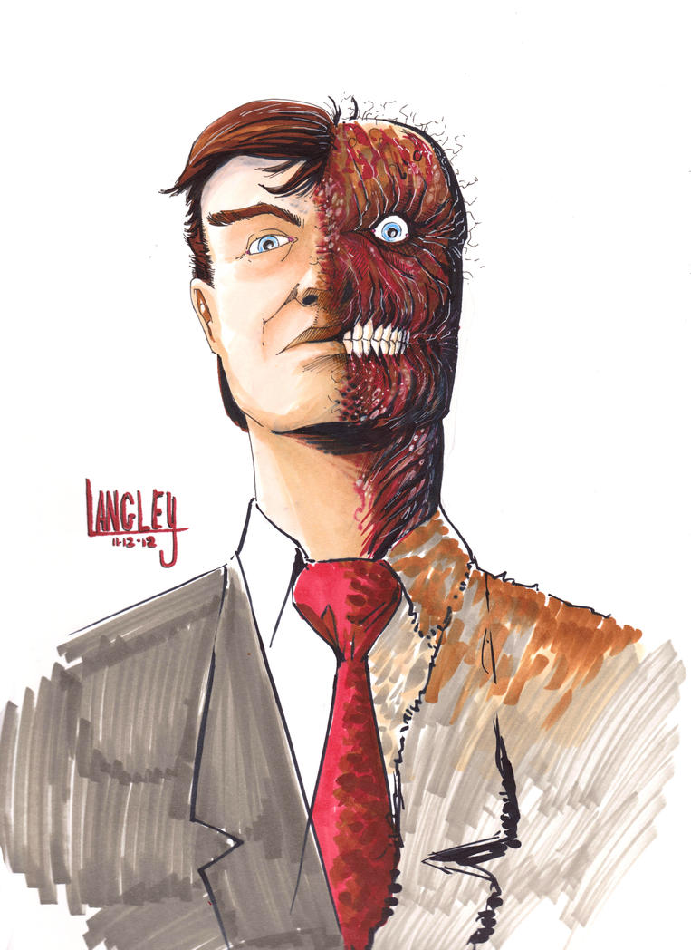 Two-Face by LangleyEffect