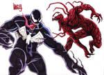 Venom vs. Carnage!!