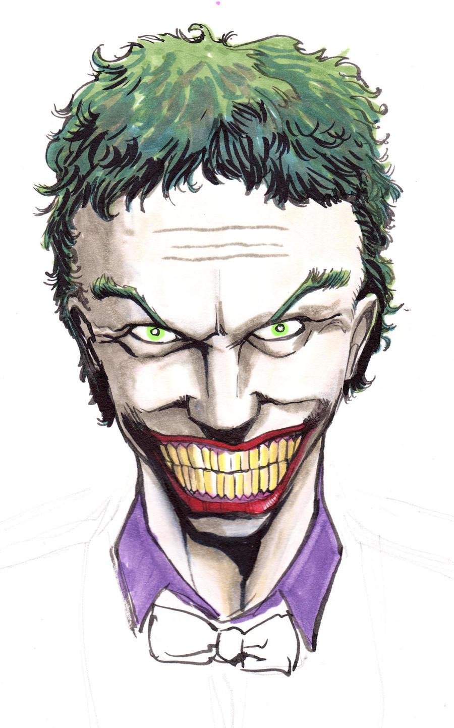 Joker WIP by LangleyEffect