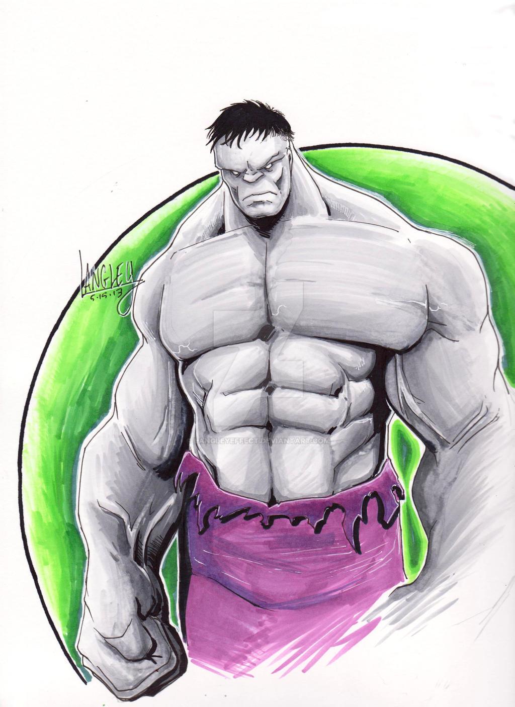 Gray Hulk by LangleyEffect
