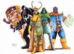 Marvel Villains commission