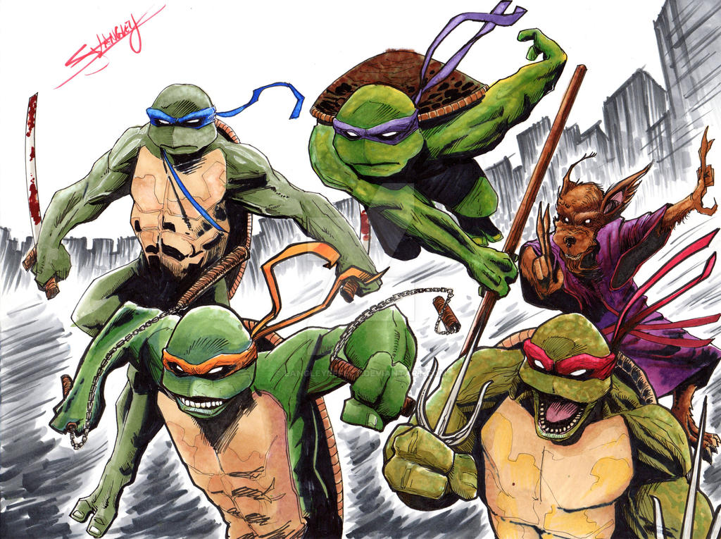TMNT Commission by LangleyEffect