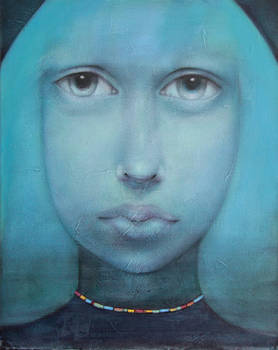 Blau Madonna