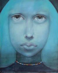 Blau Madonna by LosOjosNegros