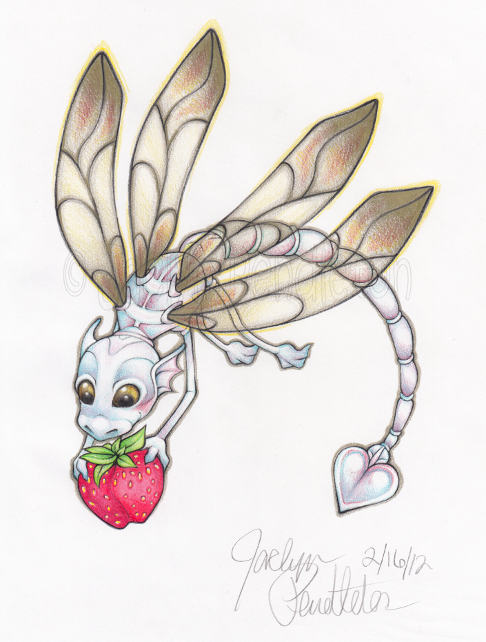 Dragonfly Dragon By DinchtGirlie On DeviantArt