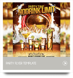 Drink Limit Party Flyer Template by cerceicer