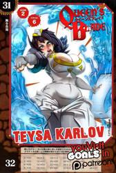 Teysa Karlov in Queens blade! by ArtofKamina