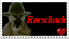 Rorschach -Watchmen- Stamp by RejektedAngel