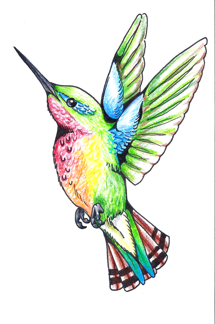 Hummingbird tattoo design by dharmanow on deviantart hummingbird tattoo design by dharmanow urmus Gallery