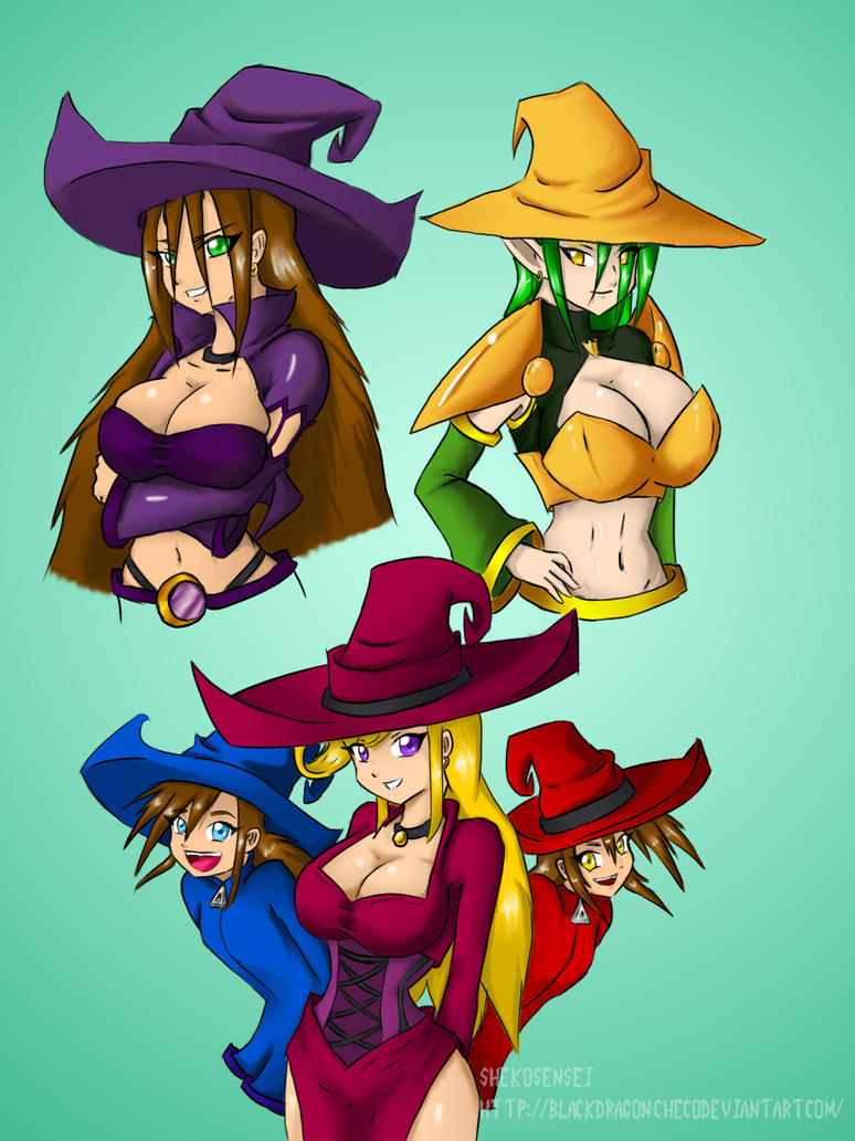 Witches Concepto by blackdragon-checo