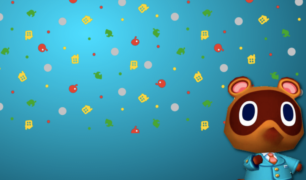 animal crossing new leaf wallpaper nook by pirosam on