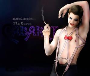 Blaine as The Emcee