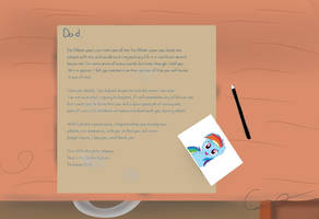 My Little Dashie - Letter warning spoiler