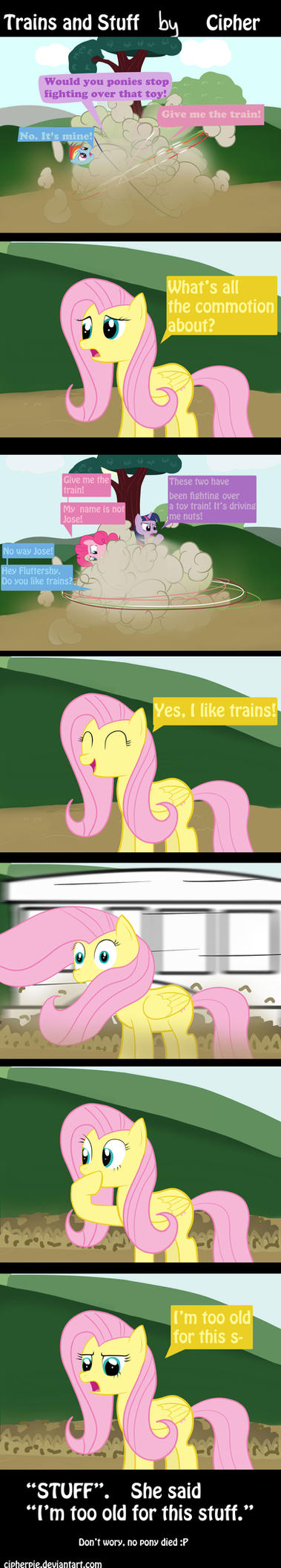 Trains and Stuff by cipherpie