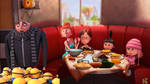 Gru family on thanksgiving by goodnesslove
