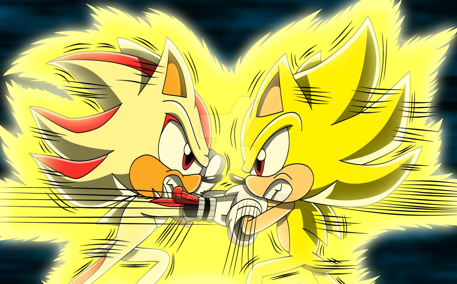 Sonic vs Shadow  ReRemake by Galaxyneir on DeviantArt