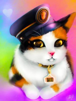 Tama the Cat by DamaskRose0503