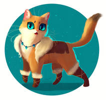 Castle Cats: Hosico by DamaskRose0503