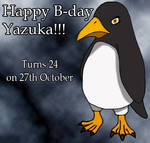Happy birthday Yazuka