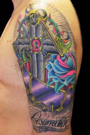 Tupac tattoo by ~brandonbond