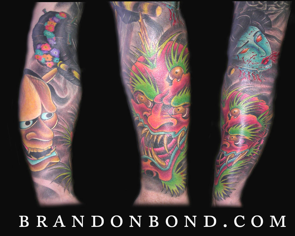 Japanese Style Sleeve by