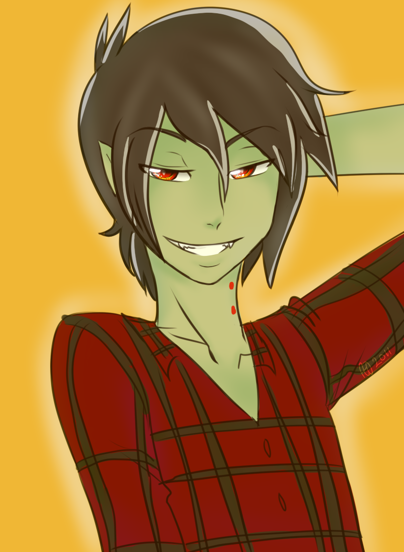 Marshall Lee by NightmareMiku