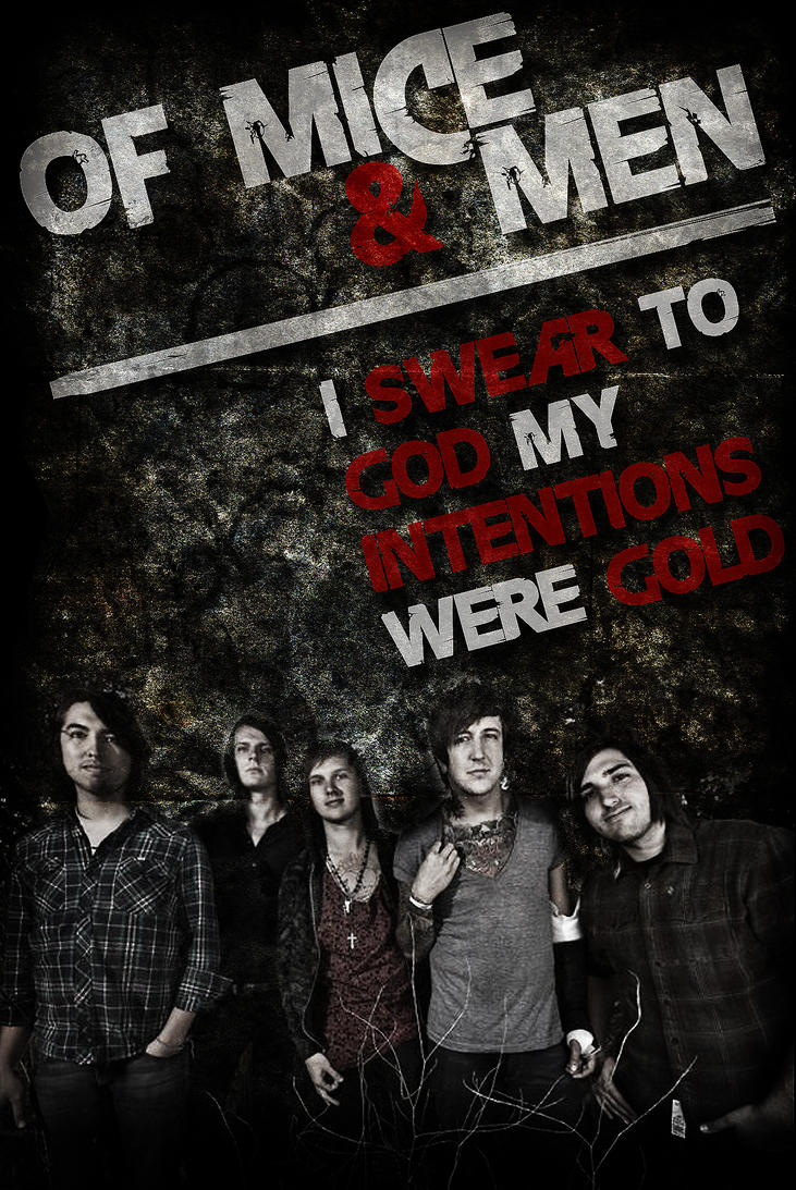 Of mice and men band poster by micha3l26 on deviantart - Austin carlile wallpaper ...