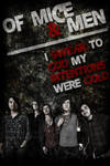 Of Mice and Men Band Poster
