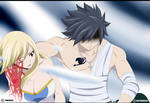 Lucy and Gray - Fairy Tail 535