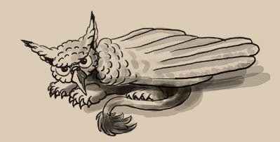 Grumpy Gryphon