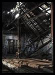 fallen roof
