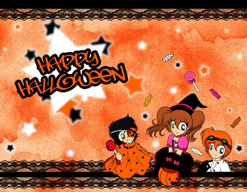 Happy Halloween! by stardustpink