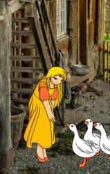 Goose Girl: Gerda by stardustpink