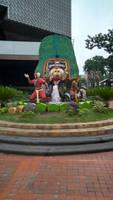 Statues of Reog Ponorogo at Delta Plaza Surabaya