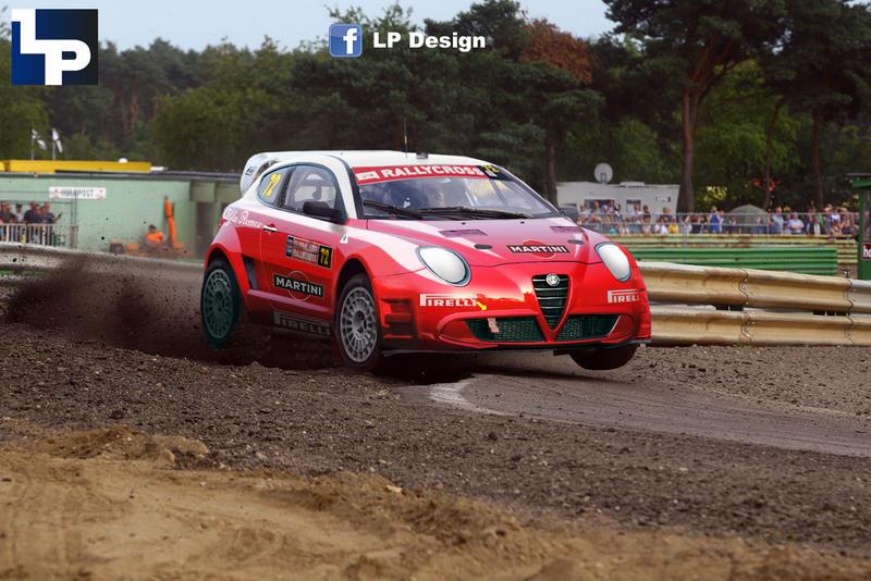Alfa Romeo Mito Rallycross By Renxo93 On Deviantart