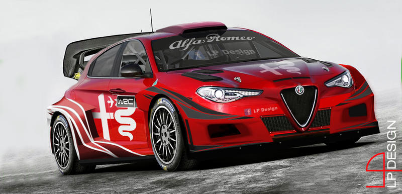 alfa romeo giulietta wrc with 2017 new regolamentrenxo93 on