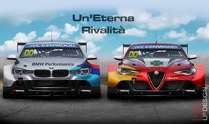 BMW VS Alfa Romeo WTCC Concept