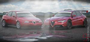 Alfa Romeo Giulia WTCC