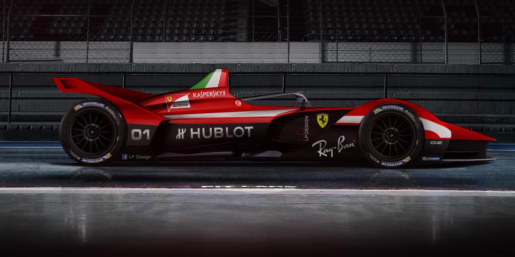 Ferrari Formula E Specs By Renxo Dc Nh V