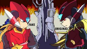 Zero y Omega - Megaman Zero