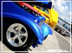 Blue '32 roadster