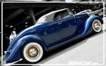 Blue '35 Roadster