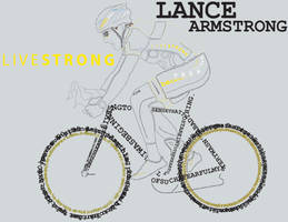 Lance Armstrong Typography by irule102