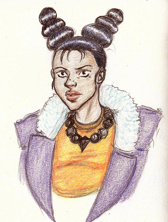 Random Character Design 4 by Black-Artistik