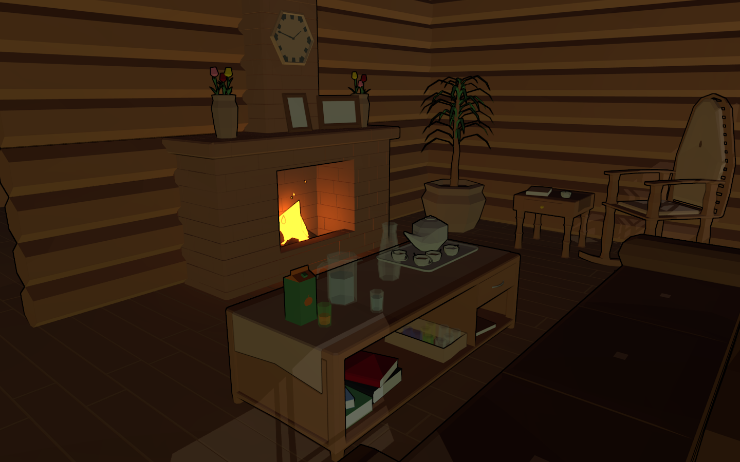 3Dcember - Day6 - House interior 2/2 by Daragos90
