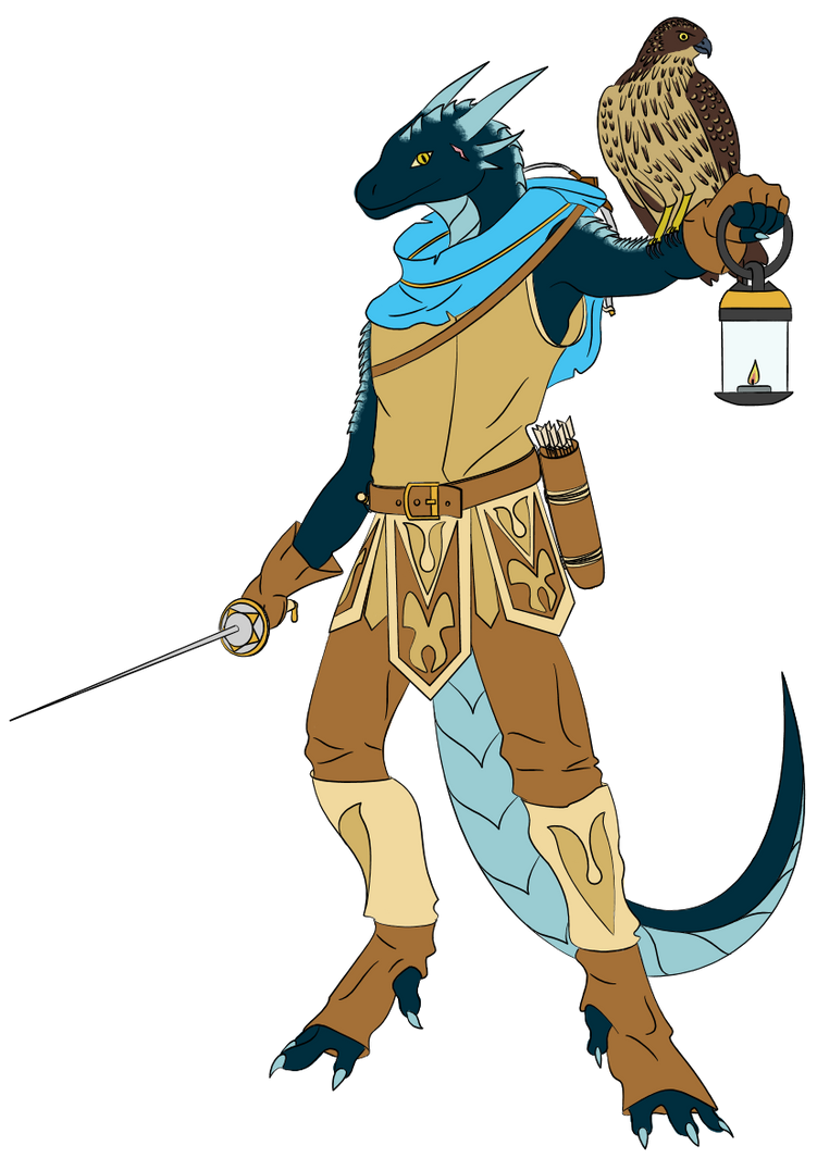 My first DnD Character - Reokian Daragos by Daragos90