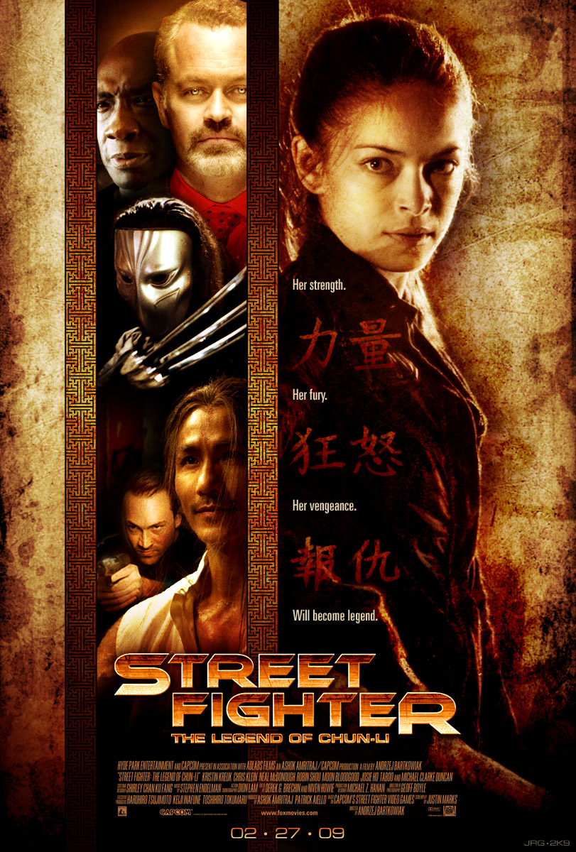 Street Fighter: TLoCL by shokxone-studios