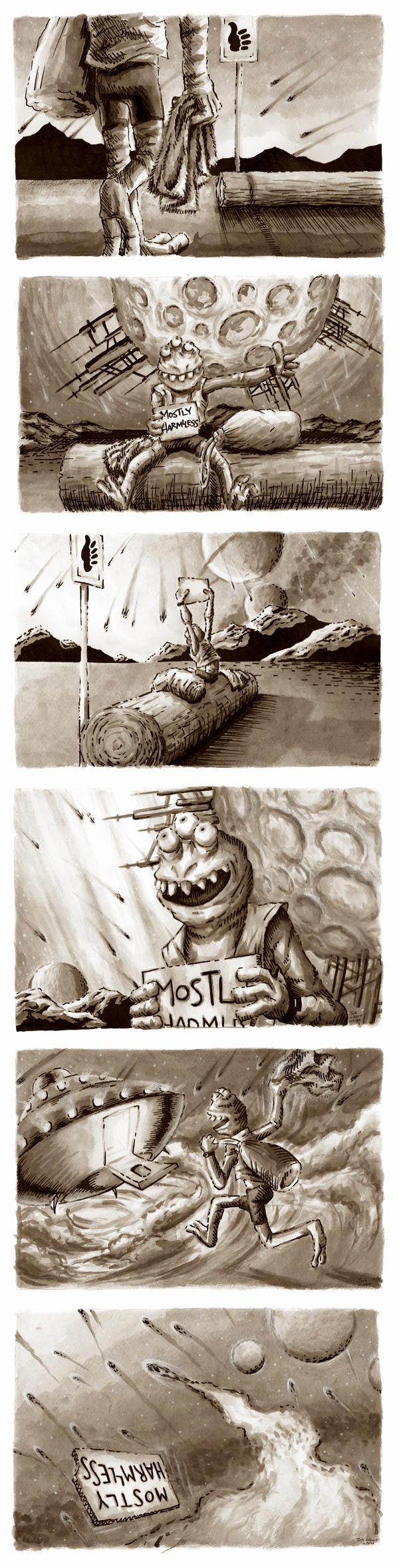 The Travels of Douglas, Part I by shokxone-studios