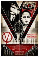 V For Vendetta 13x19 by shokxone-studios