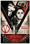 V For Vendetta 13x19